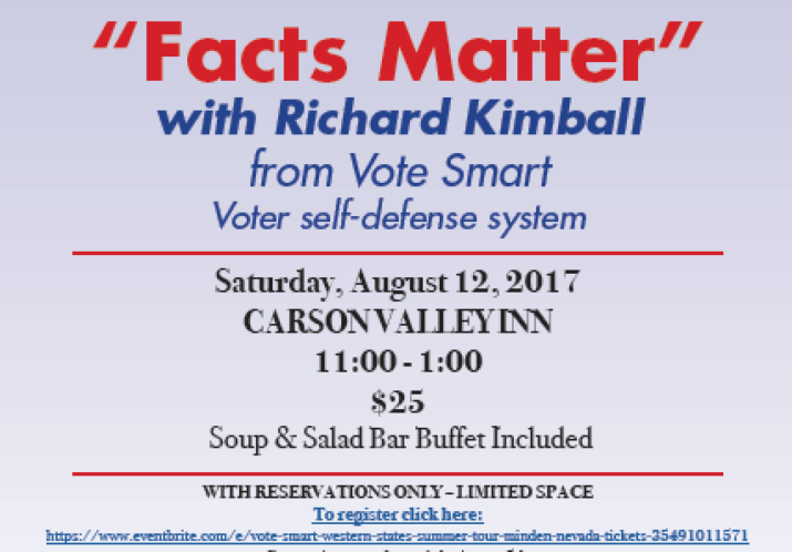 """Facts Matter"" with Richard Kimball (Vote Smart)"